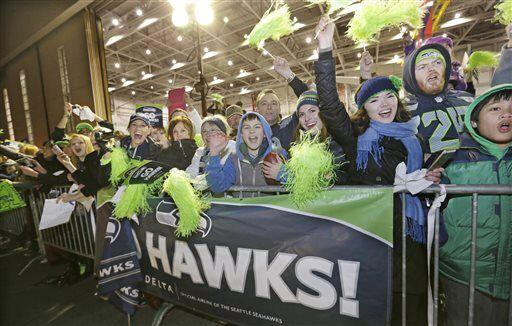 Seguramente Seattle festejará el triunfo por semanas (AP-NFL).