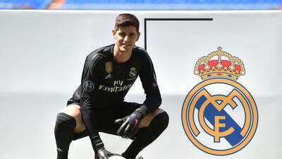 """En fotos: Thibaut Courtois llega a Real Madrid como """"uno de los mejores, sino el mejor"""""""