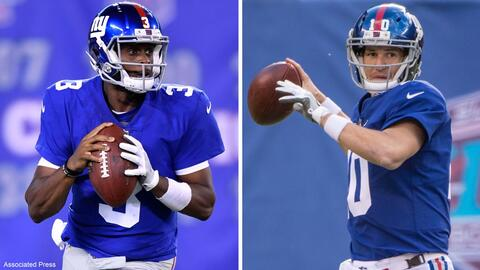 ¿Será Geno Smith el quarterback del futuro para los Giants...