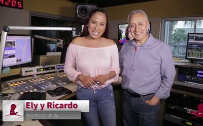 Ely Venegas y Ricardo Manzanares se unen al Radiotón 'Promesa y Esperanza'