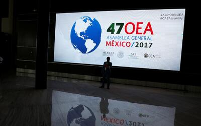 La OEA no llega a un consenso sobre la crisis en Venezuela y la fecha pa...
