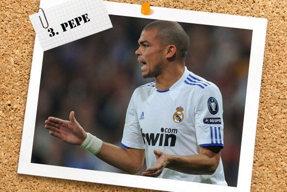 El central Pepe fue el bastión del Real Madrid para nulificar todo inten...