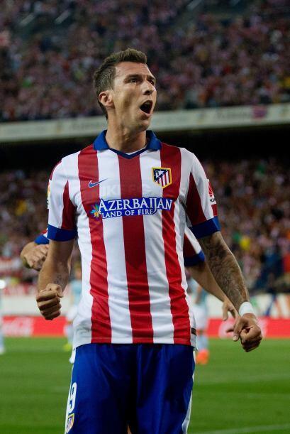 Por su parte, el croata Mario Mandzukic, que costó 22 millones al Atléti...