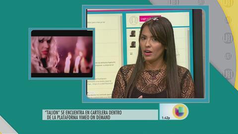 Virginia Romero continúa cosechando éxitos en la actuación