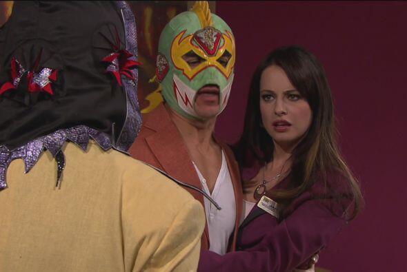 La Solitaria le dijo a La Parka que estaría muy ocupado con Jacky.