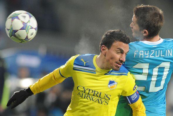 Este duelo acabó con un empate sin goles, lo que le bastó al APOEL para...