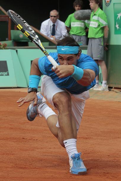 Por la rama varonil, Rafael Nadal ante el inglés Andy Murray.