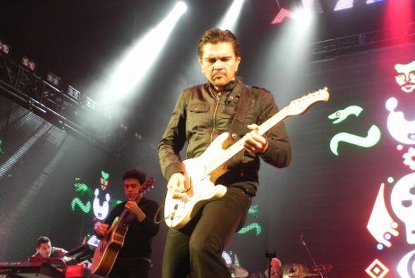 Como siempre Juanes ofreció un concierto espectacular.