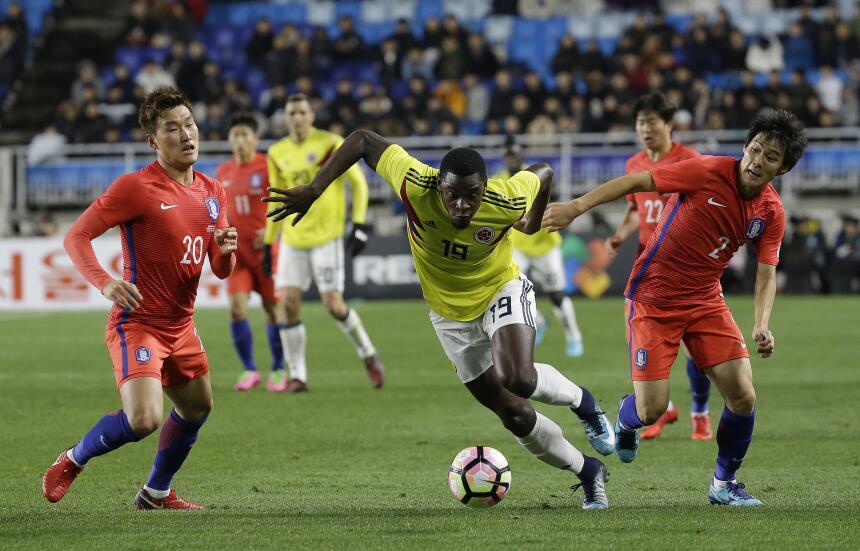 Colombia tropezó en su visita a Corea del Sur ap-17314436723504.jpg
