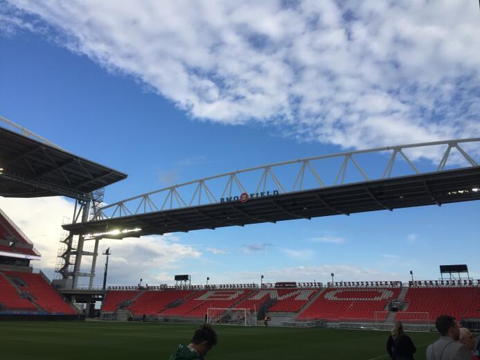 El BMO Field, casa de Toronto FC, reabre sus puertas tras renovación IMG...