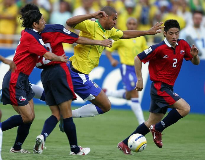 Chile en Brasil por Eliminatorias: tres visitas, tres derrotas y dos gol...