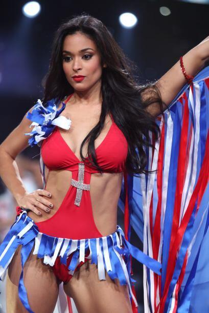 La bella dominicana se convirtió en la séptima eliminada luego de estar...