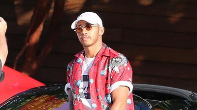 Ferrari deja botado a Lewis Hamilton en Malibú