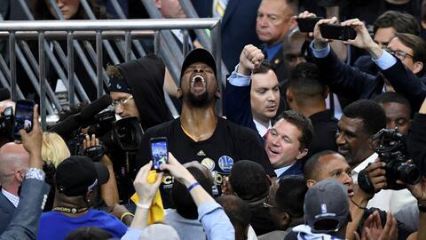 Kevin Durant ganó su primer título de la NBA.