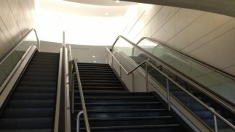 La mujer murió estrangulada porque se atoró su bufanda en las escaleras...