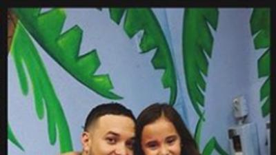 Lorenzo Méndez no le falló a su hija y publicó las fotos de la celebración del cumpleaños