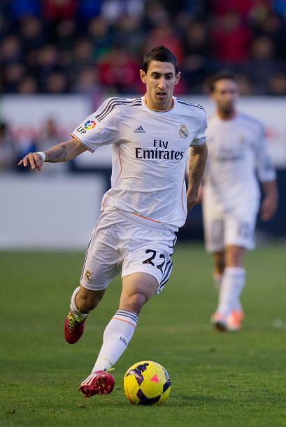 En la segunda mitad, el Real Madrid, pese a jugar con diez, intent&oacut...