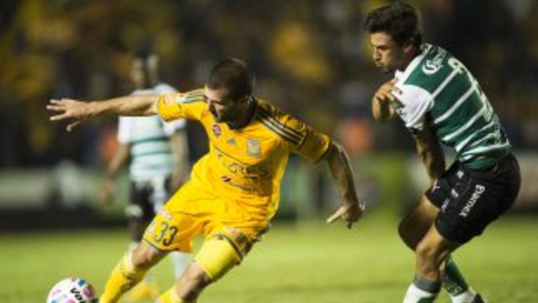 Tigres y Santos firmaron un intenso, y vibrante empate.