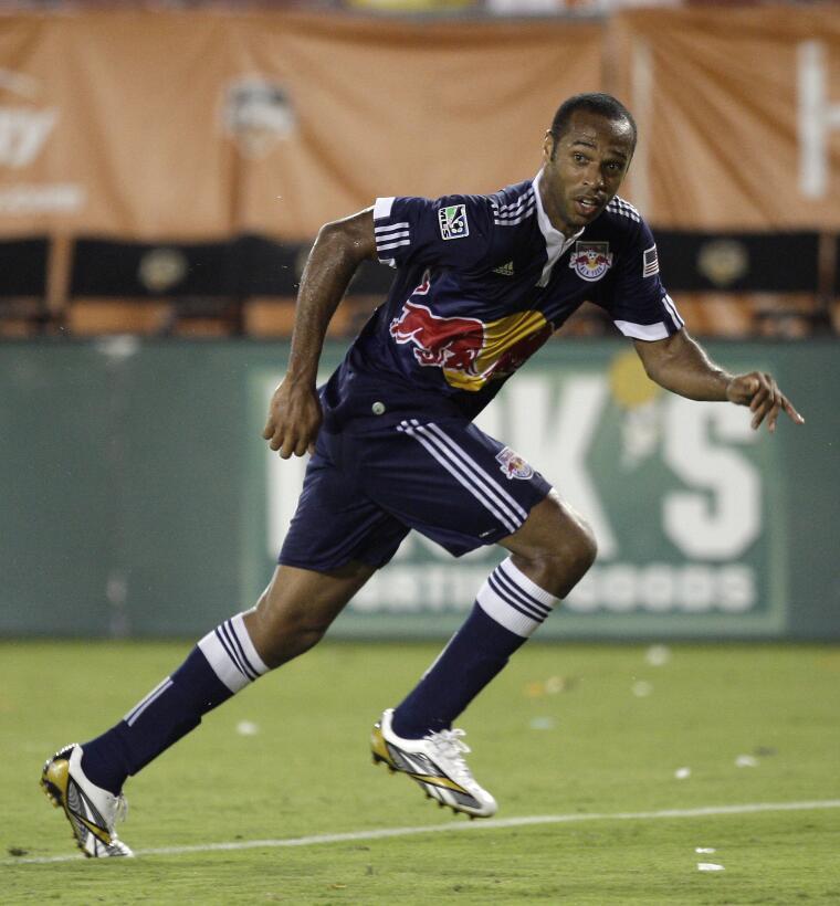 Thierry Henry - desde el Barcelona, el delantero francés se unió a los N...