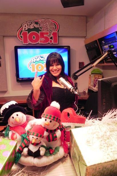 Marialen La Pecadora es rockera de corazón tanto en Navidad como todo el...