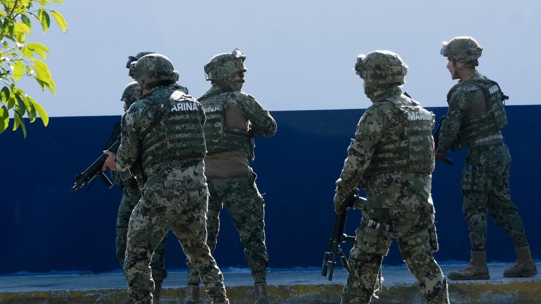 Seis de los detenidos pertenecían al 29 Batallón de Infantería, quienes...