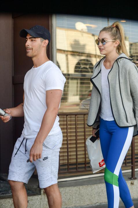 Joe Jonas y Gigi Hadid
