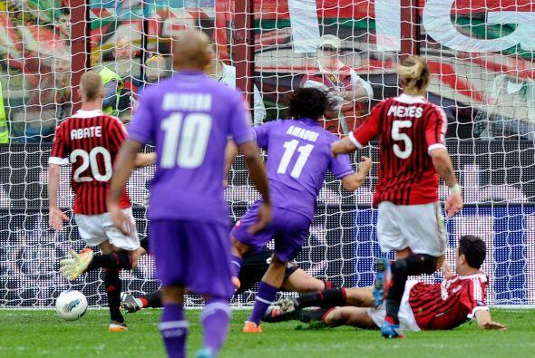 Cuando todo parecía que terminaba en empate, Amauri Carvalho De Oliveira...