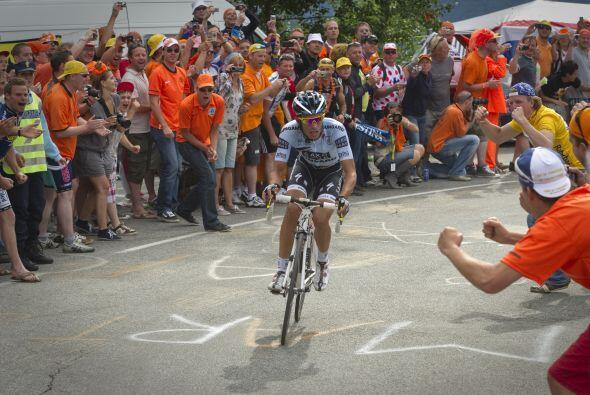 Contador, vigente campeón, marcó la 19ª etapa del Tour con una reacción...