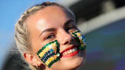 Kazán brilló en los cuartos de final gracias a las aficionadas de Brasil y Bélgica