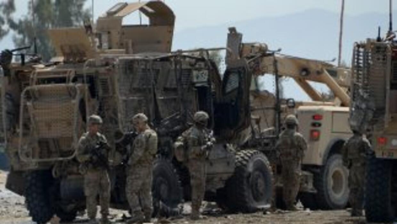 Tropas estadounidenses en Afganistán.