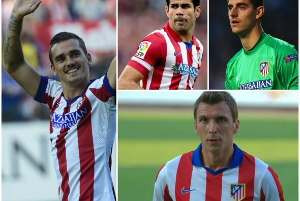 El Atlético de Madrid afronta el nuevo torneo con varios cambios...