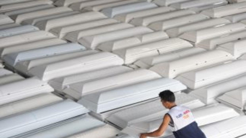 Las graves inundaciones también dejaron sin hogar a 674,472 personas, de...