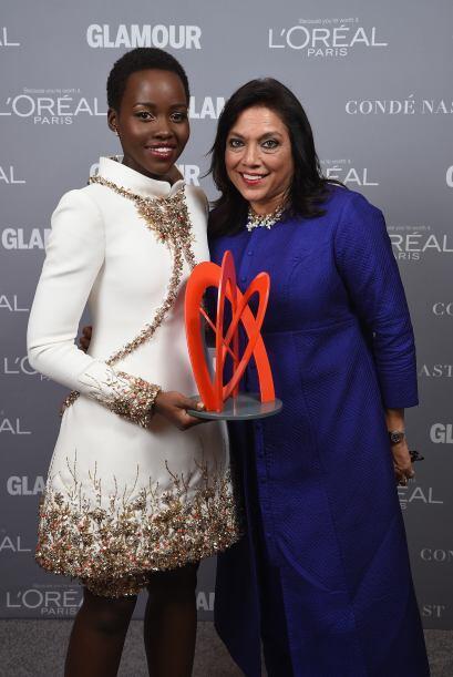 Esta ha sido la décima gala que realiza la revista Glamour para festejar...