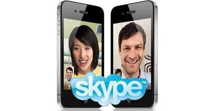 La nueva actualización de Skype para iPhone pretende mejorar la experien...