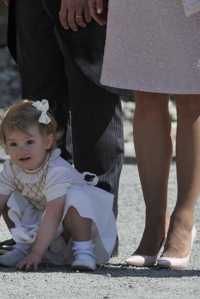 Laprincesa Estela es hija de Victoria de Suecia y del prínc...