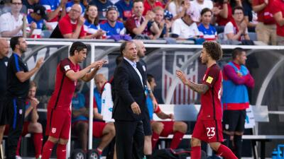 Bruce Arena con Team USA