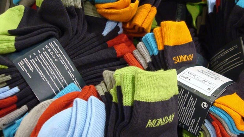 Donated socks