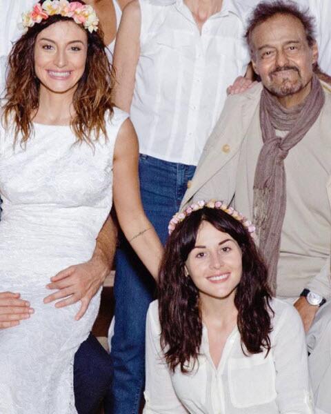 Marimar, Zuria y Gonzalo Vega