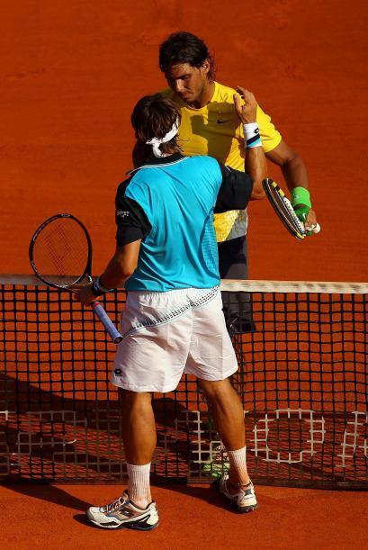 Dos horas y 16 minutos le bastaron a Nadal para derrotar a Ferrer.