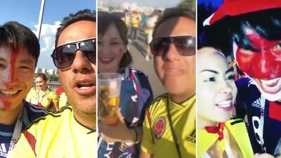 Indignación por la ofensiva y cruel broma que unos fans colombianos le jugaron a otros japoneses en el Mundial