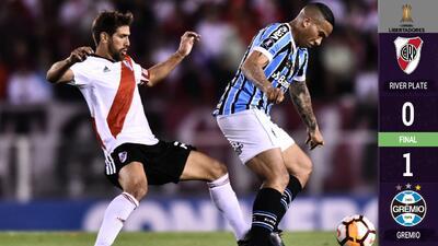Gremio le puso hielo a una posible final de Superclásico en Libertadores