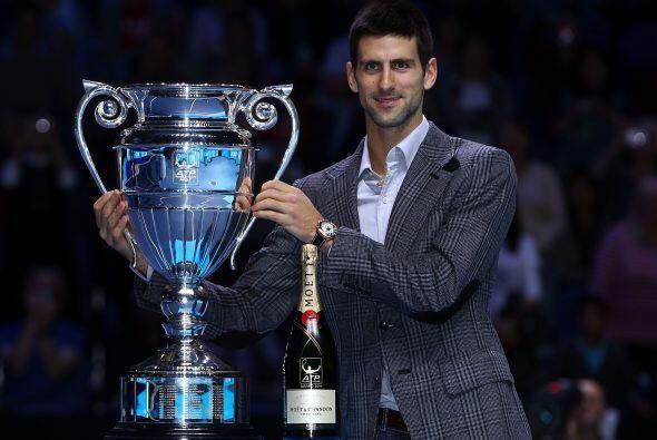 El serbio ha ganado tres de los cuatro Grand Slam de la temporada: el Ab...