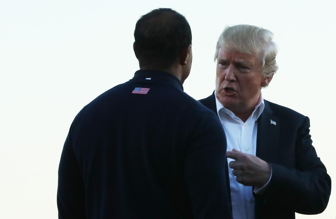 Los amigos de Donald Trump en el golf internacional gettyimages-85642349...