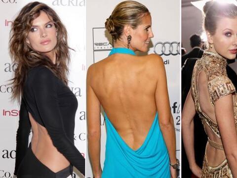 Tu espalda es parte de tus encantos, así que seduce a todos antes...