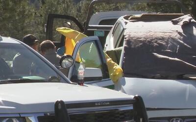 Sospechoso de asesinar a mujer se suicida en carretera