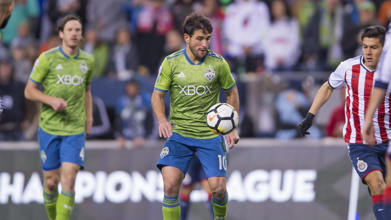 Por lesión, Nicolás Lodeiro no viajó a Guadalajara junto a Seattle Sound...