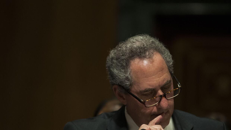 Michael Froman en el Senado en 2015