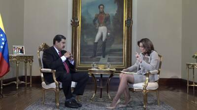 Entrevista exclusiva de Maria Elvira Salazar a Nicolás Maduro