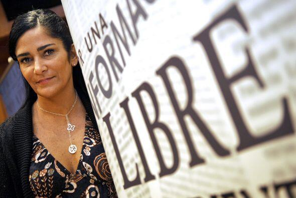 La periodista y escritora Lydia Cacho ha sido reconocida por sus obras d...