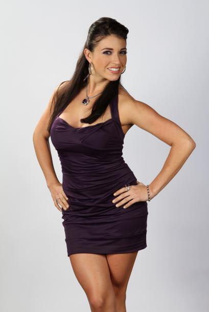 Shanik Hughes es mexicana y se presentó al casting en Miami. Es extrover...